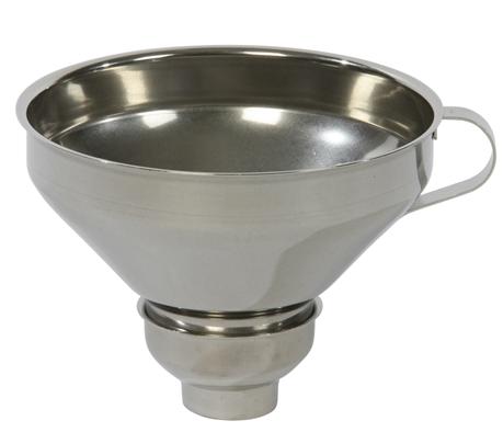 1 X Fourneau Haut Cafetière Moka Pièce de Rechange Entonnoir Aluminium