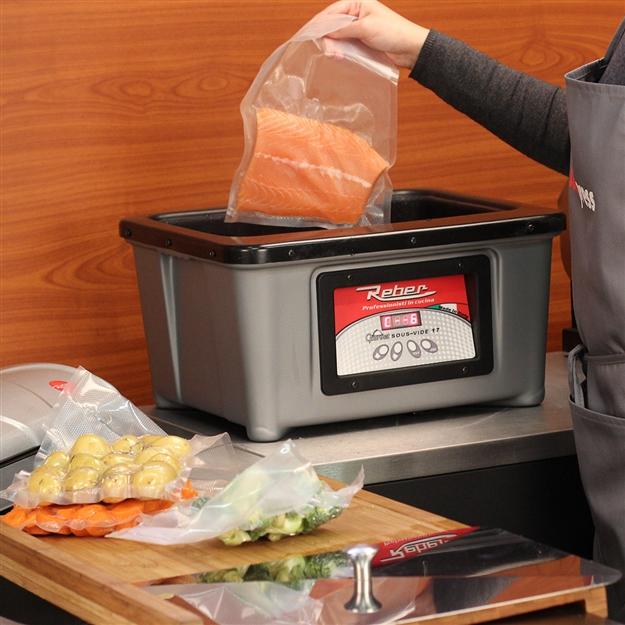 Cuire son foie gras sous vide tom press - Temperature cuisson foie gras ...
