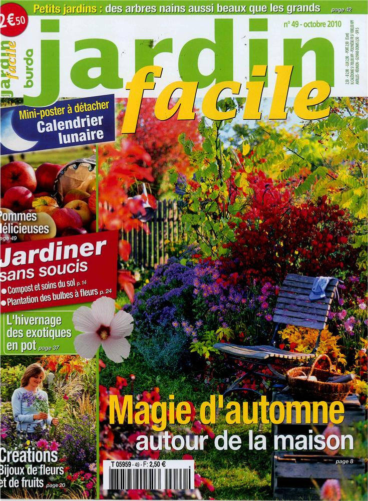 Jardin facile n 49 tom press for Jardin facile