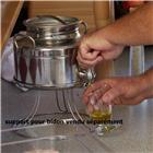 Bidon inox à huile 3 litres