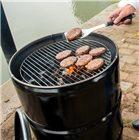 Barbecue baril métallique 200 l. 57 cm brasero table bar