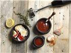 Coffret mixeur plongeur Bamix 200 W noir pour barbecue
