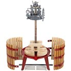 Pressoir hydraulique vis centrale 128 litres