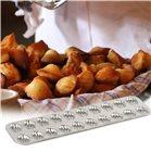 Plaque en fer blanc pour 20 madeleinettes