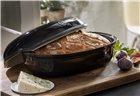 Moule à pain artisan miche et gros pain en céramique gris anthracite Fusain Emile Henry