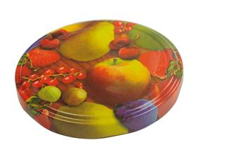 Capsules twist off 82 mm décor fruits par 10
