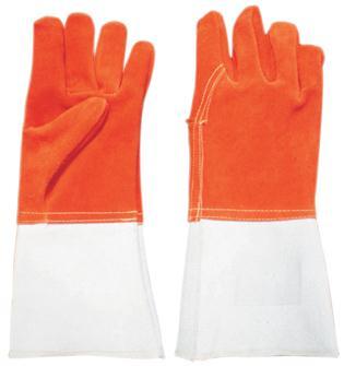 Gants de protection anti-chaleur cuir à 300°C
