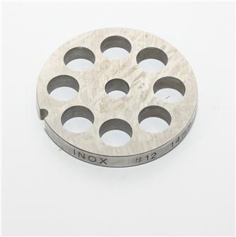 Grille inox 14 mm pour hachoir n°12