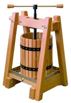 Pressoir en bois de 10 litres