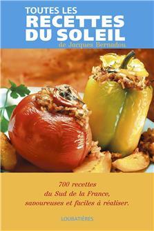Livre Toutes les recettes du soleil