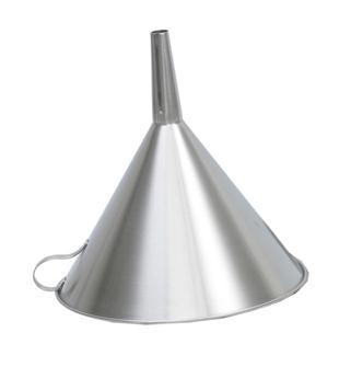Entonnoir filtre inox 30 cm