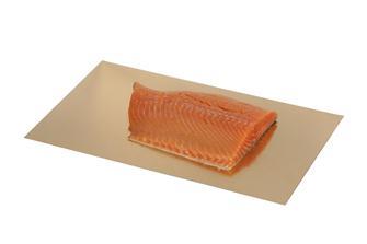 Plaques dorées et argentées de 26x44 cm pour sacs sous vide 30x50