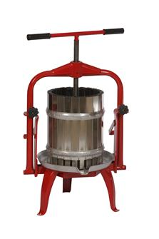 Pressoir inox à étrier 20 litres