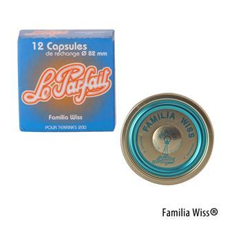 Capsule Familia Wiss® 82 mm par 12