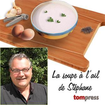 Recette de la soupe à l´ail de Stéphane