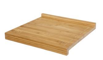 Planche de travail en bambou petit modèle avec rebord