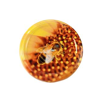 Capsules Twist-off Abeille sur pollen 63 mm par 10