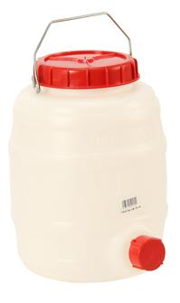 Tonnelet alimentaire cylindrique 10 litres