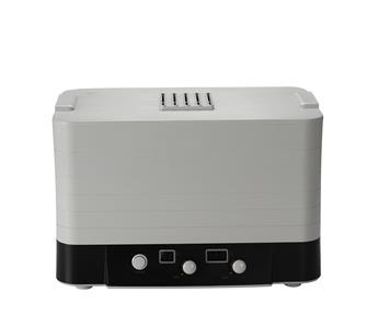 Déshydrateur avec thermostat et filtre 6 plateaux rectangulaires