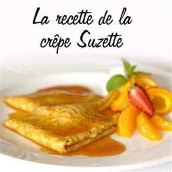 Recette de la crêpe Suzette
