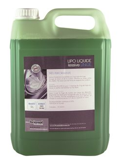 Lessive liquide pro 5 litres idéale pour linge couleur et noir