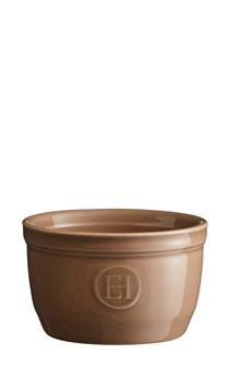 Ramequin marron Chêne Emile Henry 9 cm