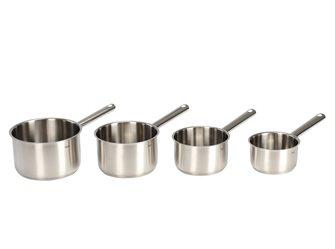 Coffret 4 casseroles Fissler 14, 16, 18, 20 cm