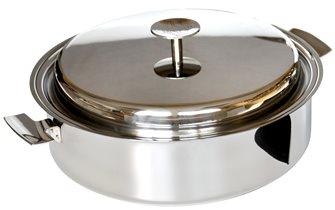 Sauteuse Baumstal inox induction 28 cm avec couvercle