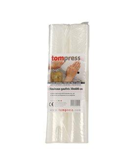 Rouleaux pour sous-vide Tom Press 30x600 cm par 2