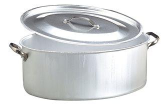 Cocotte ovale 50x36 avec couvercle