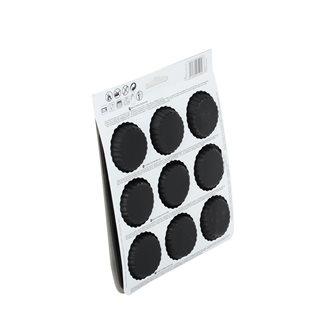 Plaque silicone 9 moules à tartelette