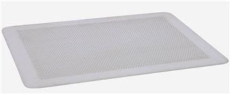 Plaque plate perforée en aluminium dur 60x40 cm
