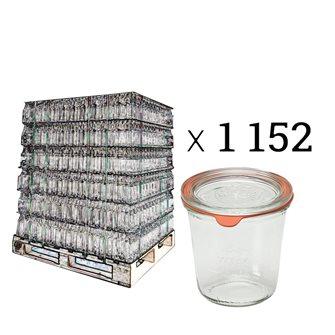 Verrines Weck 290 ml diamètre 80 par palette de 1152