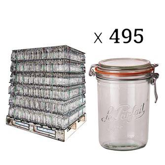 Palette de 495 Le Parfait 1 kg