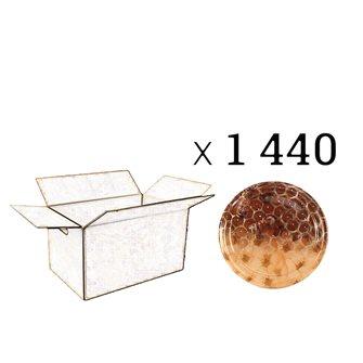 Capsules Twist-off miel alvéoles fleurs Diam 63 par 1440