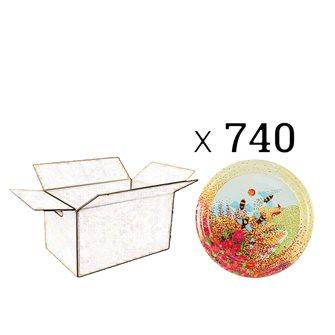 Capsules Twist-off miel Provence Diam 82 par 740