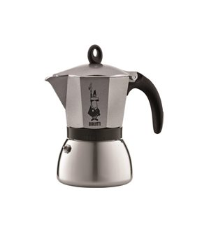 Cafetière italienne induction 6 tasses Anthracite