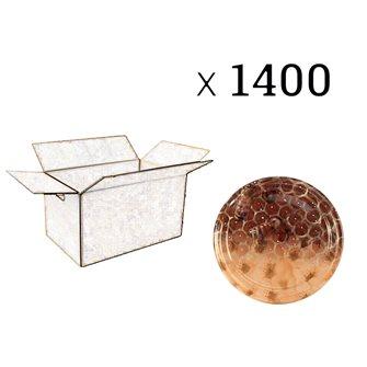 Capsules Twist-off miel alvéoles fleurs Diam 63 par 1400