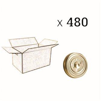 Couvercle Familia Wiss® 82 mm par carton de 480