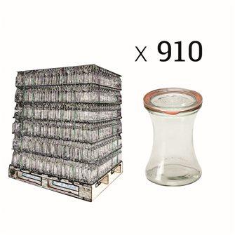 Bocaux de présentation Weck 370 ml par palette de 910