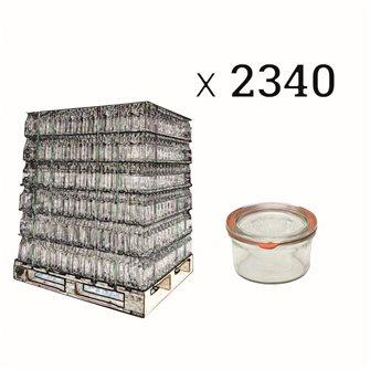 Verrines Weck 165 ml par palette de 2340