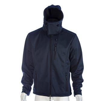 Blouson doublé polaire bleu marine Bartavel Dakota technique Softshell XL
