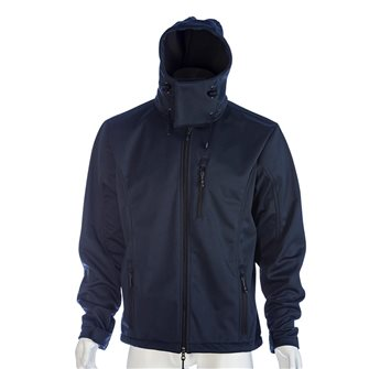 Blouson polaire bleu marine Bartavel Dakota technique Softshell 3XL