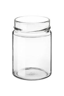 Bocal verre 314 ml diam 73 mm à capsule avec jupe très haute par 24