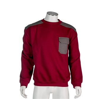 Sweat shirt homme bordeaux Bartavel Austin L