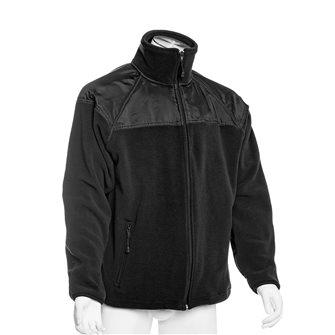 Veste polaire chaude et épaisse noire L empiècements épaules et sous avant-bras Bartavel Artic