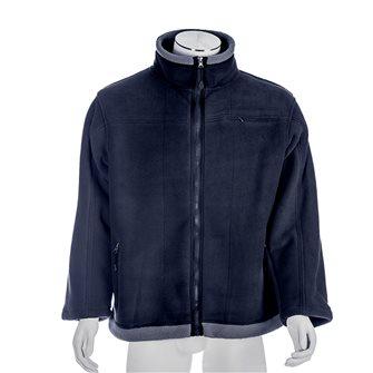 Veste polaire fourrée mixte manches longues Bartavel Husky bleu marine XL