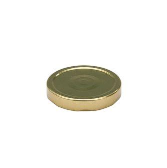 Capsule pour Bocal Jupe Haute diam 82 mm couleur Or par 20