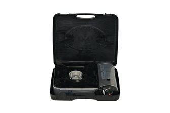 Rechaud à gaz à cartouche intégrée portable avec valisette