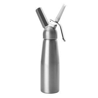 Siphon à crème 1 l, laqué, en aluminium